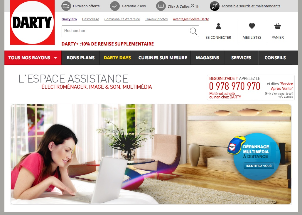Contacter Le Sav Darty Assistance Et Sav Numéros Utiles
